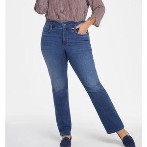 NYDJ Marilyn Straight Jeans Size 22W